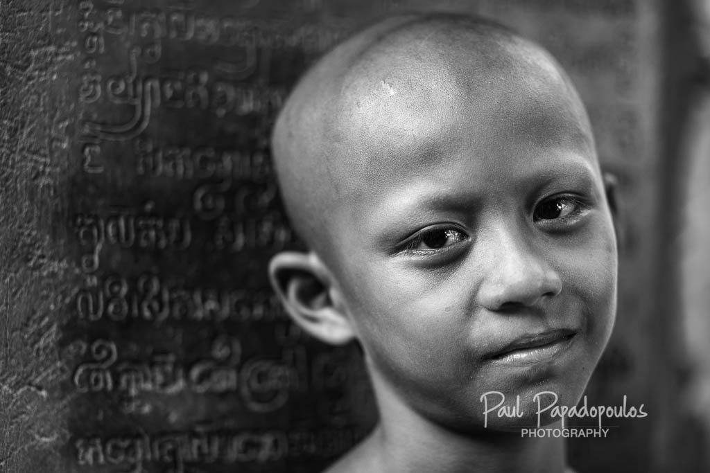 Young monk at Wat Lolei