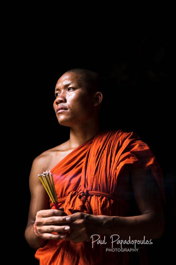 Praying - Siem Reap, Cambodia