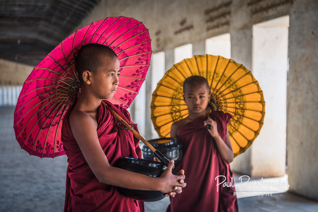 Umbrellas - Bagan, Myanmar